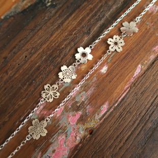 Sakura Necklace Details