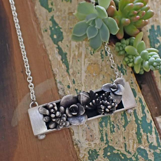 Planter Box Necklace